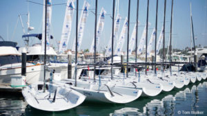 Governor's Cup 22's dockside at host Balboa Yacht Club